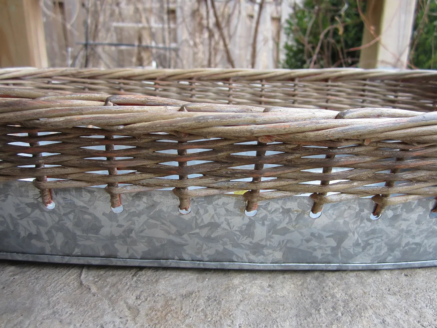 How to Age a Wicker Basket / HomeStagingBloomingtonIL