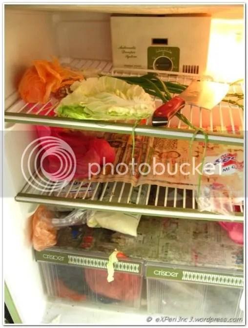 Cleaver in the fridge