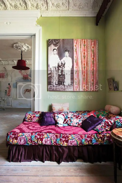 Colorful + Quirky Living