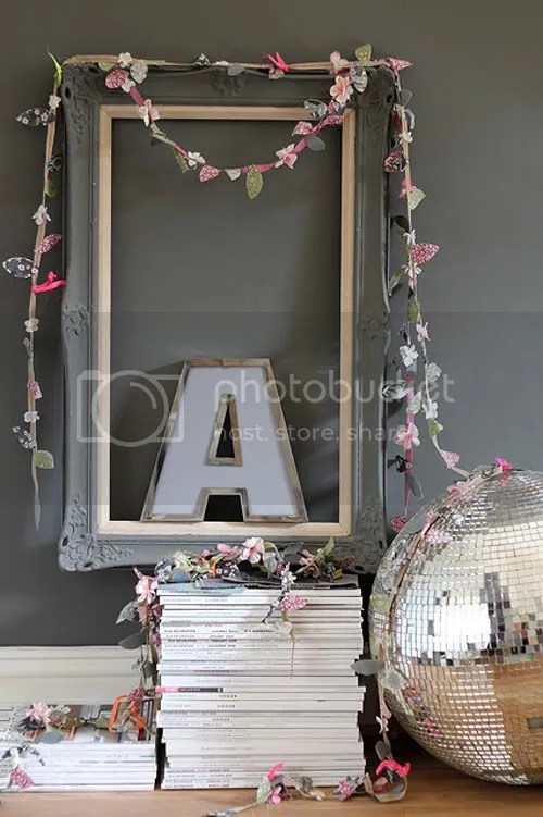 DIY: Spring Garlands Using Liberty Fabrics