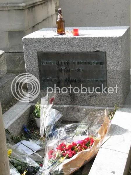 Jim Morrison, Pere Lachaise 2008