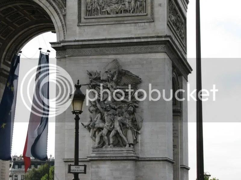Arcul de Triumf, Paris 2008
