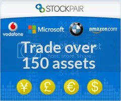 stockpair registration banner - over 150 assets