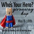 Who is your hero giveaway hop image