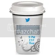 #AZChat on Twitter 9pm EST every Thursday in April 2016