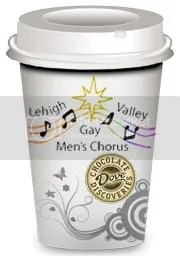 Lehigh Valley Gay Men's Chorus chocolate fundraiser