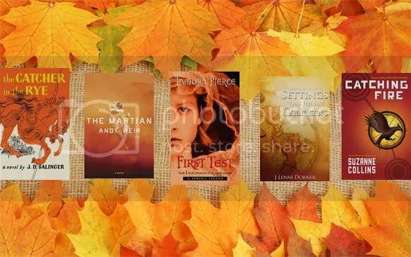 #TackleTBR blog of @JLenniDorner Fall Autumn book covers