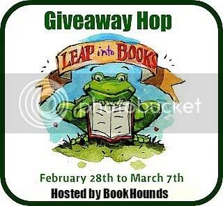 LEAP INTO BOOKS GIVEAWAY BLOG HOP on @JLenniDorner blog