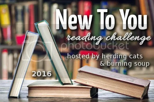 New To You 2016 reading challenge #NewToYou2016