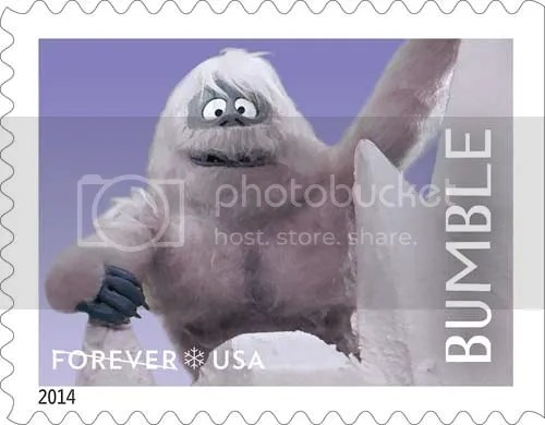 @JLenniDorner loves Bumble. He is now on a postage stamp.