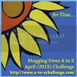 Blogging from #AtoZChallenge April 2015