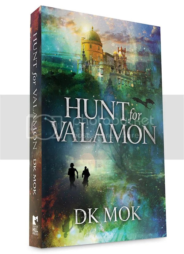 Hunt for Valamon by DK Mok blog tour stop with @JLenniDorner