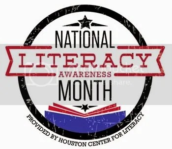 September is National Literacy Month, and I hope that you'll join me in supporting LITERACY
