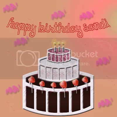 happy birthday Sandi image by J Lenni Dorner