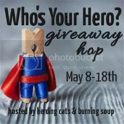 Who's Your Hero Giveaway Hop on @JLenniDorner blog #WhosYourHero