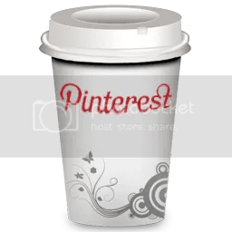 Pinterest social coffee cup