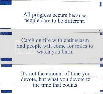 Fortunes for writers