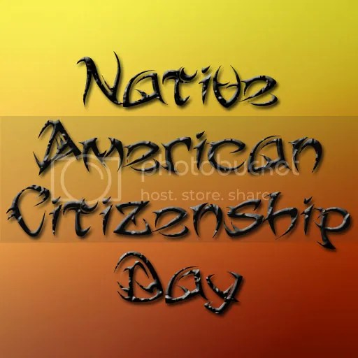 Native American Citizenship day image