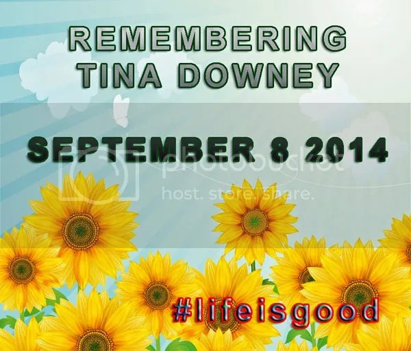 Tina #lifeisgood #atozchallenge memorial
