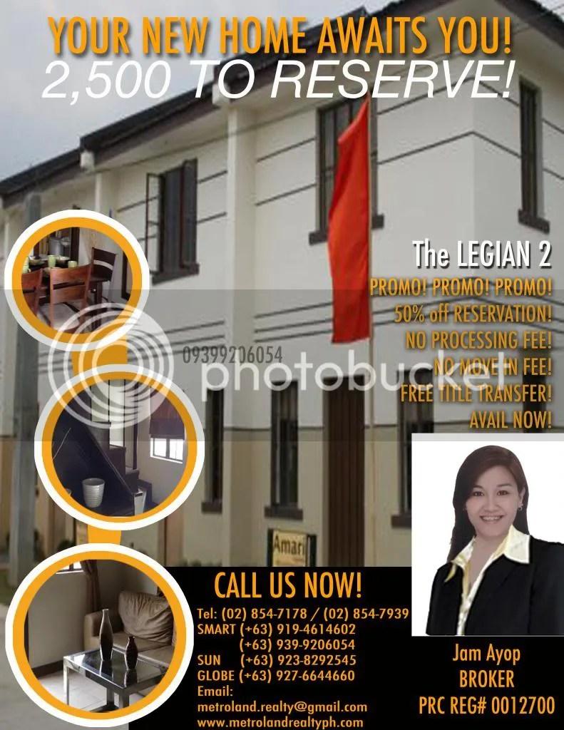 Cavite Philippines  City new picture : The Legian 2 Imus Cavite, Philippines – Metroland Realty