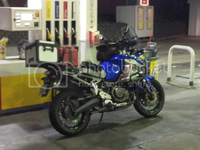 Motorcycle ready to go and fuelled up
