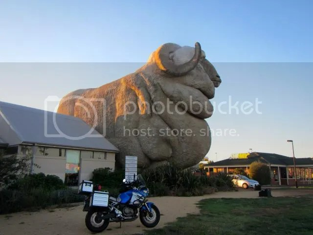 Super Tenere Motorcycle Big Merino Goulburn