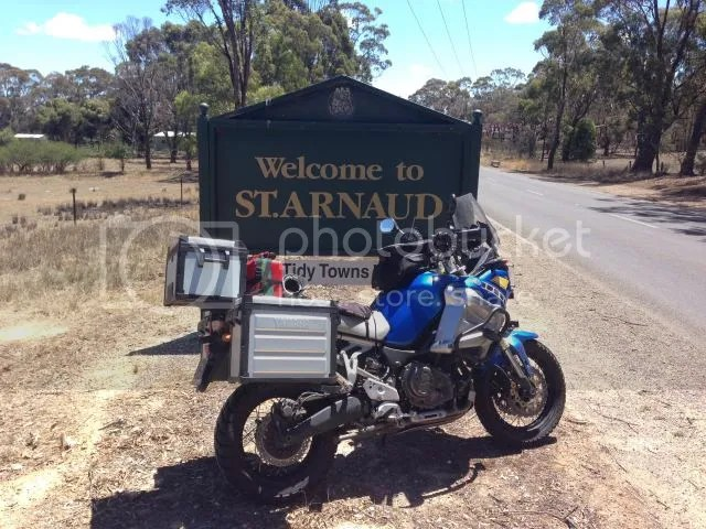 Motorcycle at St Arnaud VIC