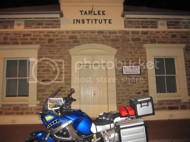 My Super Tenere at Tarlee South Australia