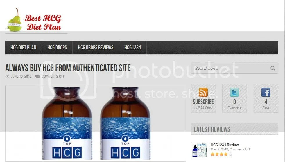 best known hcg drops