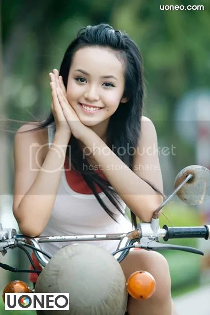 Le Hoang Bao Tran Uoneo 02 Le Hoang Bao Tran   Stunning 13 Year Old Model from Vietnam