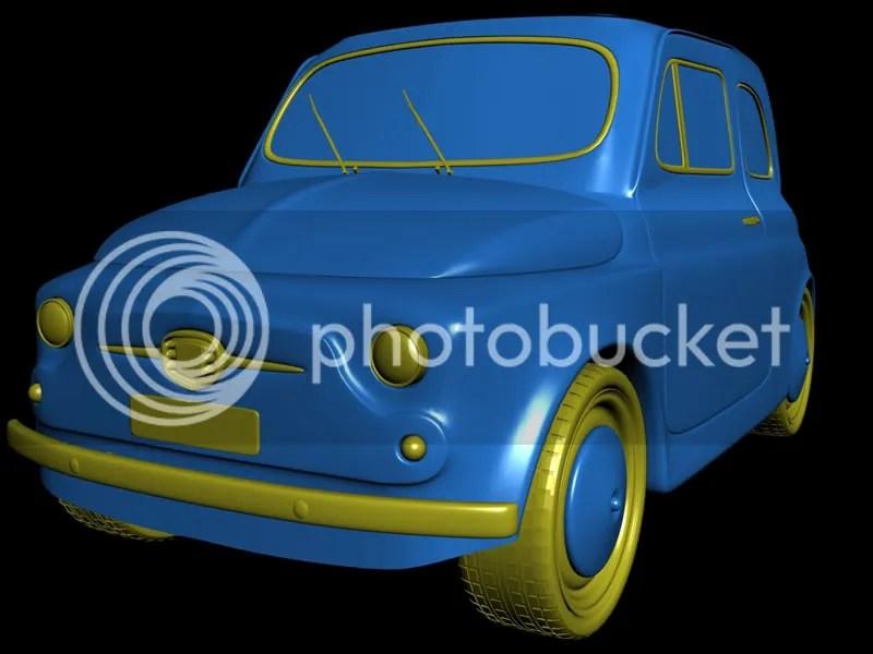 Fiat 500 old - Kodaichi