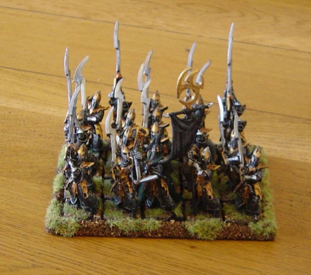 WHFB: Dark Elf Executioners (1/3)