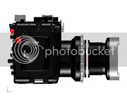 Underwater Housing For Canon PowerShot G15