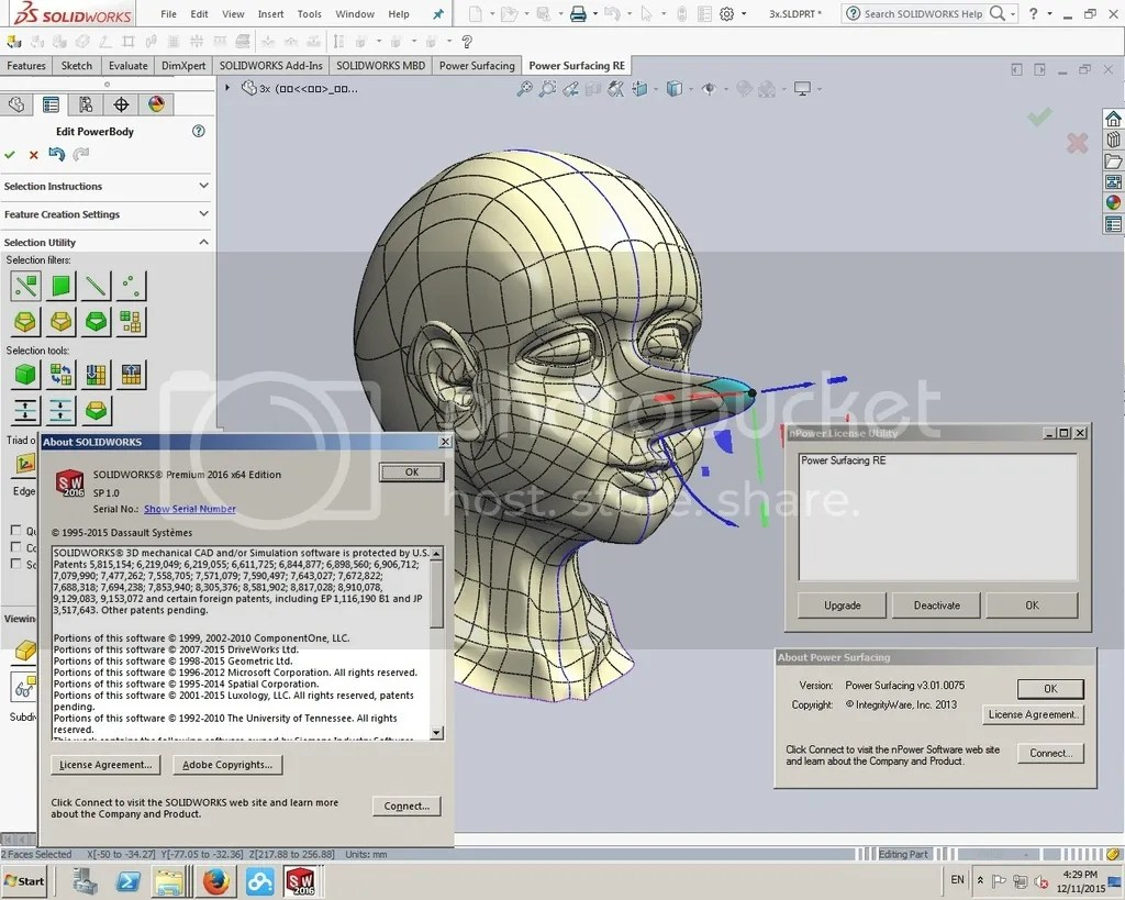 power surfacing for solidwork 2013 torrent