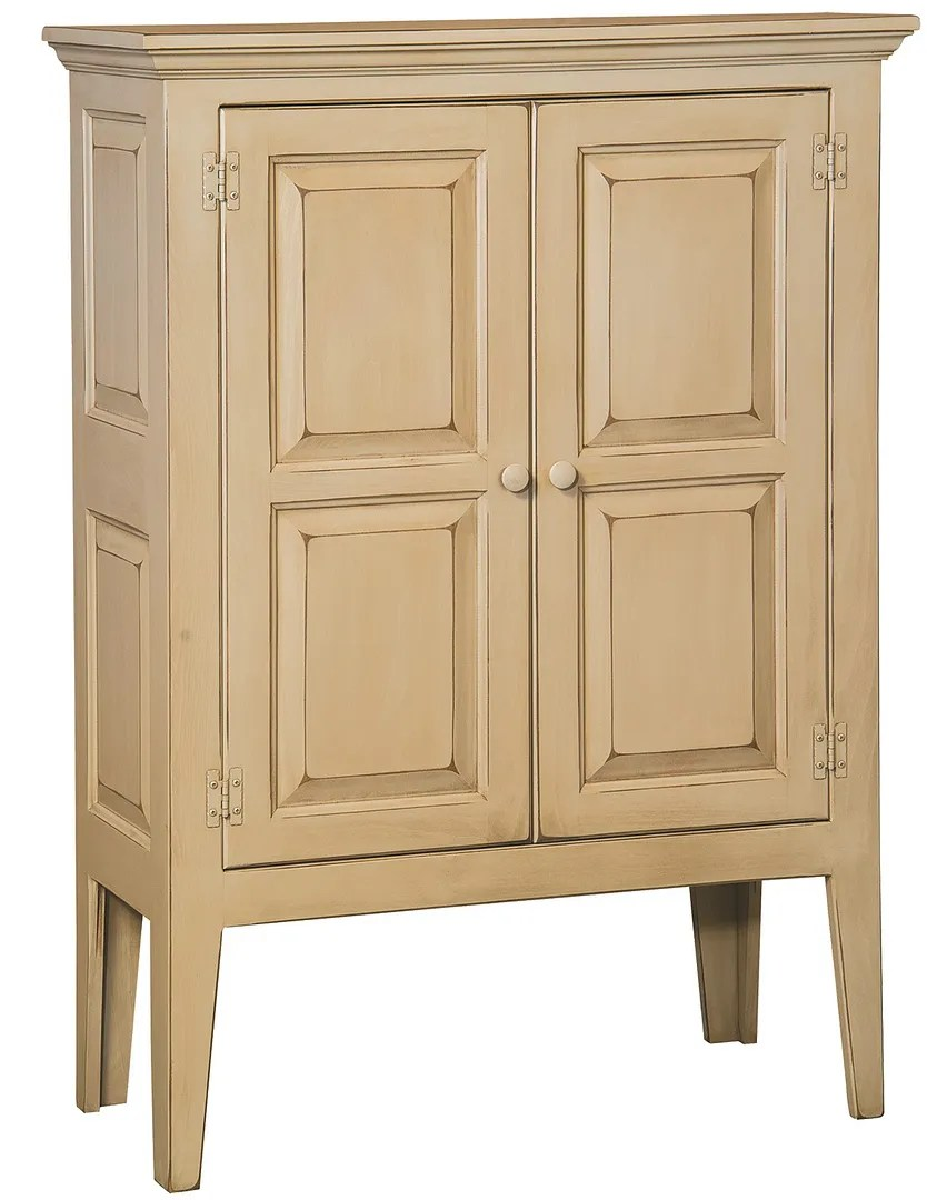 Details About Amish Primitive Shaker Storage Cabinet Farmhouse Cottage Solid Wood Distressed