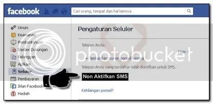 7.Cara Memblokir Pesan Pemberitahuan Facebook