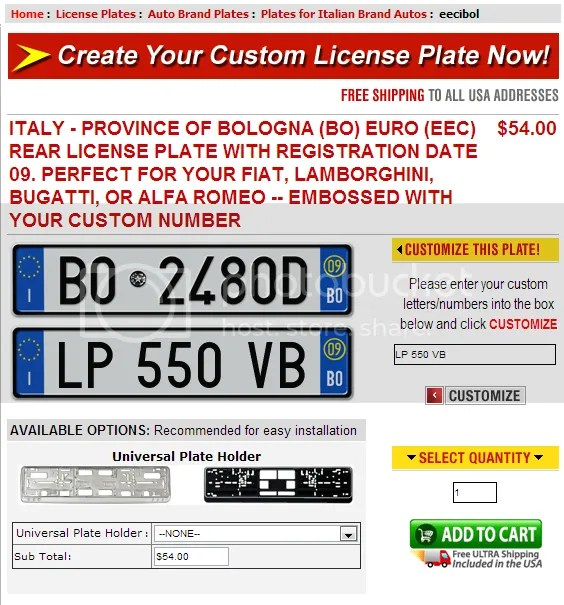 Can You Change License Plate Template