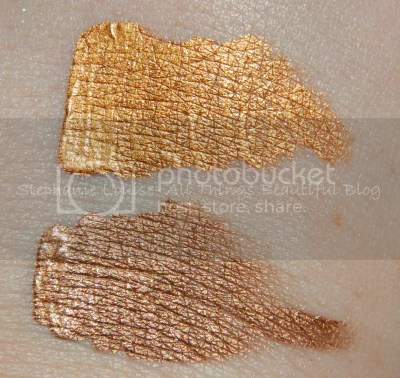 Butter London Wink Cream Eyeshadows in Randy & Brassed Off Swatches + Review
