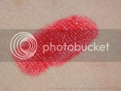 MAC Maleficent True Love's Kiss Lipstick Swatches & Review + Makeup Geek Blitz Eyeshadow