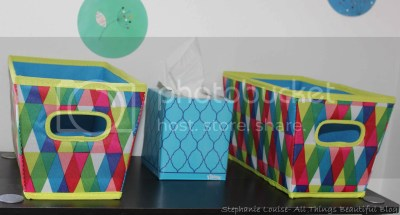 Quick Peek at our Home with new Kleenex Styles, DIY, Decor, Home, House, Style, Fashion, Rainbow, Storage, pattern, staple,