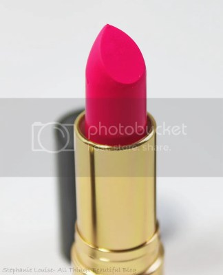 Revlon Spring 2014 Limited Edition Lipsticks in 014 Matte Sultry Samba Swatches Review