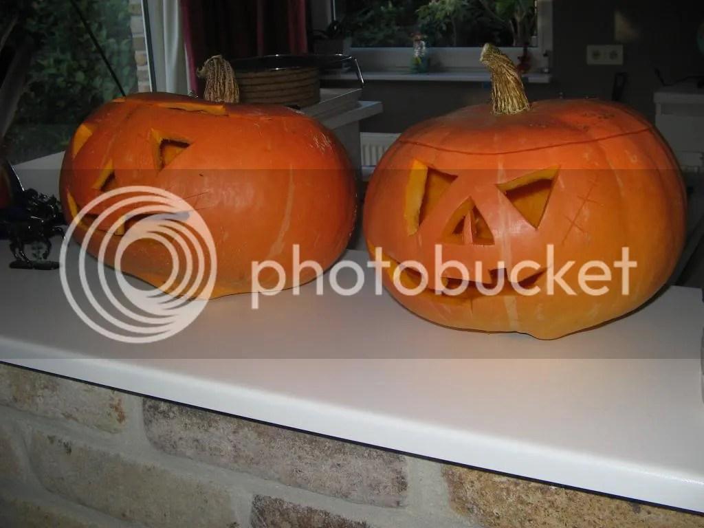 disfigured pumpkins