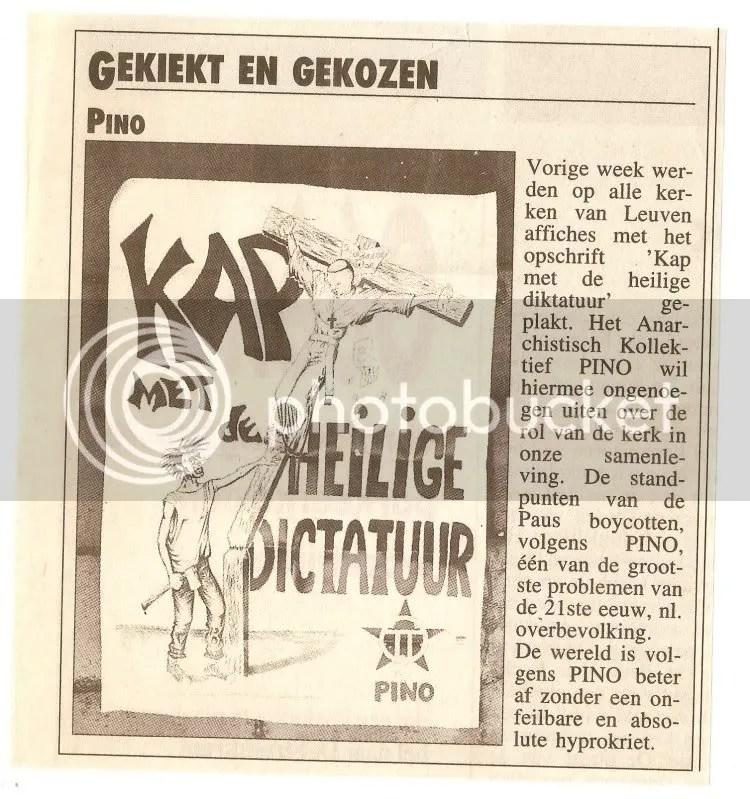 Affiche AK PINO 1994