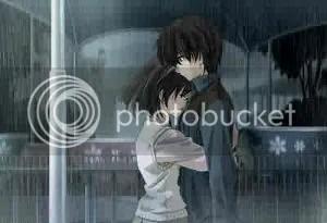 La lluvia puede ser muy romántica