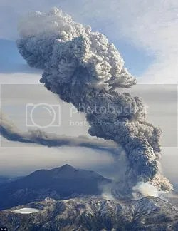 Erupción del volcán Shin Moe (monte Kirishima, Japón). 28 de enero de 2011