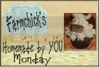 Homemade by YOU Monday Linky Party with Farmchick