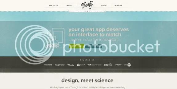 Những thiết kế website mang xu hướng hiện đại