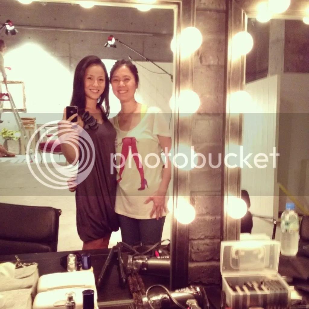 Make up artist Misato Ikeda, Adele Wong