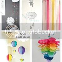 5 DIY: Ideas para decorar - Móviles para el techo