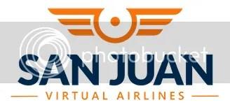 San Juan Virtual Airlines logo